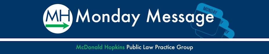 Public Law Monday Message Header